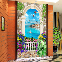 European Style Garden Scenery Diamond Embroidery Kit Complete Drill Mosaic Diamond Painting Cross Stitch For Living