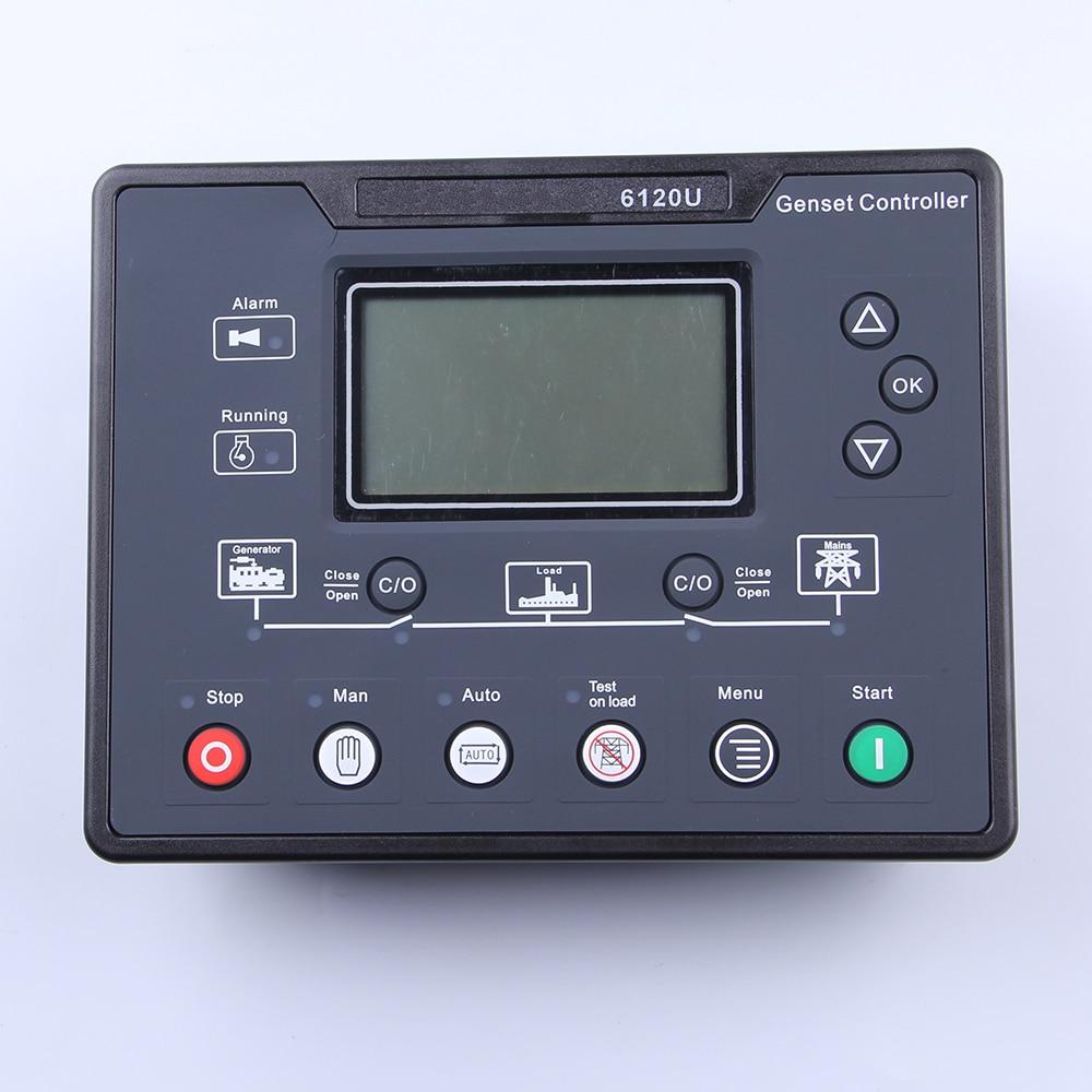 все цены на 6120U AMF diesel generating set controller terminal box LCD controller онлайн