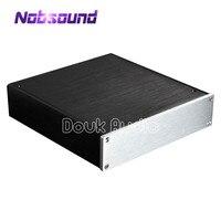 Douk 오디오 소형 알루미늄 섀시 범용 앰프 인클로저 diy 케이스 dac 박스