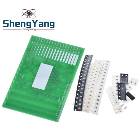 DIY Kit SMD Rotating Flashing LED Components Soldering Practice Board Skill Electronic Circuit Training Suite Electronic DIY Kit Islamabad
