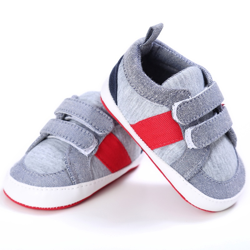New New Spring Kid Boys Casual Patchwork First Walkers Non-slip Soft Bottom Baby Cack Shoes