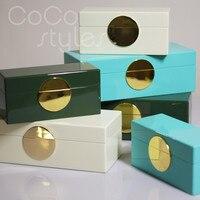 Cocostyles InsFashion творческий ручной работы Творческий коробочки для украшений для современных luxe домашний декор