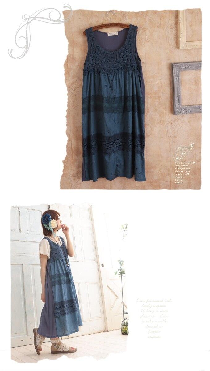 Des ivoire Femmes Rayon De Lotus Gilet Feuille Princesse Bleu Pour Sweet Pur Sans Côté Manches Frais Lolita Fg092 Le Robe La Vêtements Dentelle Shopping 7FvxP7g