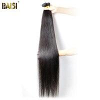 Baisi Hair Factory Virgin Peruvian Straight Hair Longest Length 28 30 32 34 36 38 40 42100% Human Hair Weave