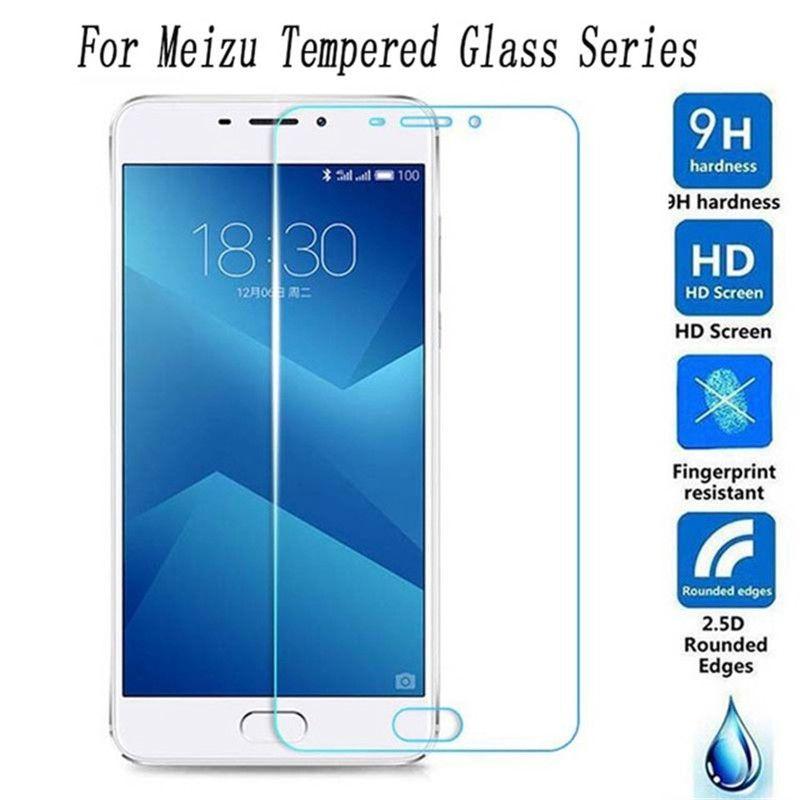 שקוף מסך זכוכית עבור Meizu U10 U20 M5 M6 הערה M3 9 H 2.5D מזג זכוכית מגן סרט לmeizu m3 M5 M6 הערה פרו 7 M5C
