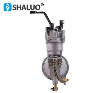 Image 4 - high quality LPG Carburetor 168 dual fuel LPG NG conversion kit for 2KW 3KW 168F 170F Gasoline Engine Generator Carburetor