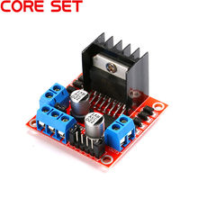 1PCS Smart Electronics L298N Stepper DC Motor Driver Shield Expansion Development Board for arduino DIY Car Robot Dual H Bridge(China)