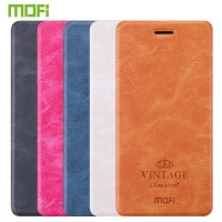 For Xiaomi Redmi Note 4 Case Original Mofi PU Leather Case Note 4 Cover Phone Cases