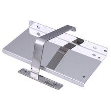 Uchwyt na papier toaletowy z półką ze stali nierdzewnej