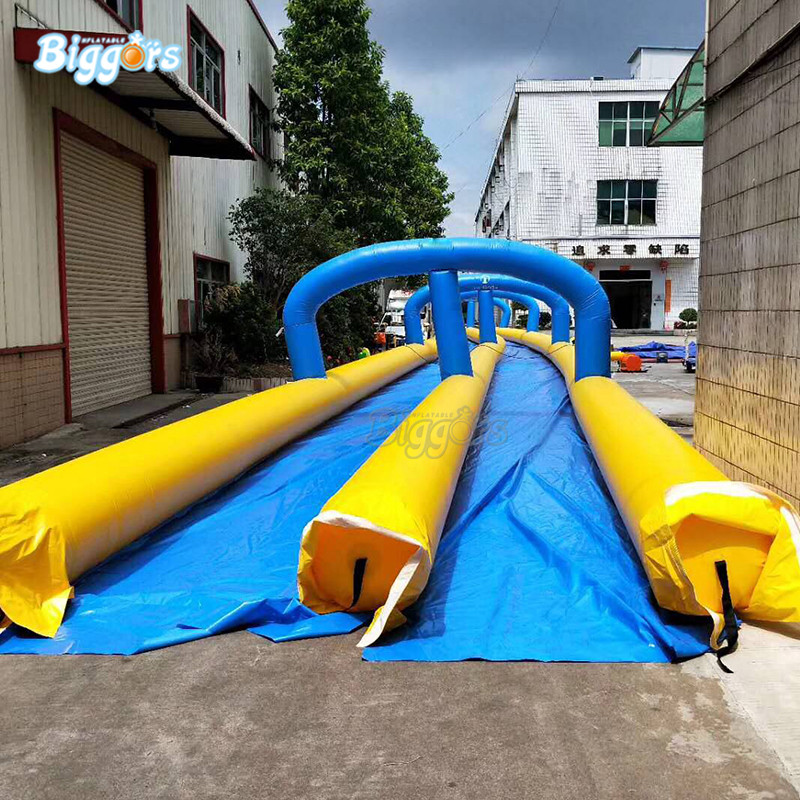 Summer hot selling Inflatable water slide Inflatable water slip and slide with blowersSummer hot selling Inflatable water slide Inflatable water slip and slide with blowers