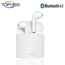 Bluetooth наушники Беспроводной наушники Спорт стерео наушники с зарядки окно для Ios и Android
