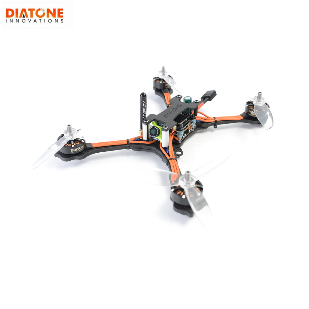 Date Diatone 2018 GT R530 Stretch X Version bras intégré 232mm F4 course OSD FPV RC Drone Racer PNP F40 DShot600 4in1 ESC