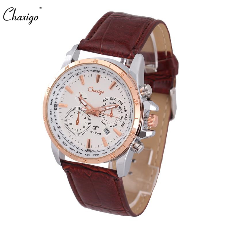 Chaxigo brand quartz watch mens cheap wrist watches b for sale for Watches brands for men