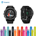 Fashion Silicone Strap For Garmin Fenix 3 2 3Hr Quatix Tactix D2 Watch Wrist Watchbands Replacement Accessories