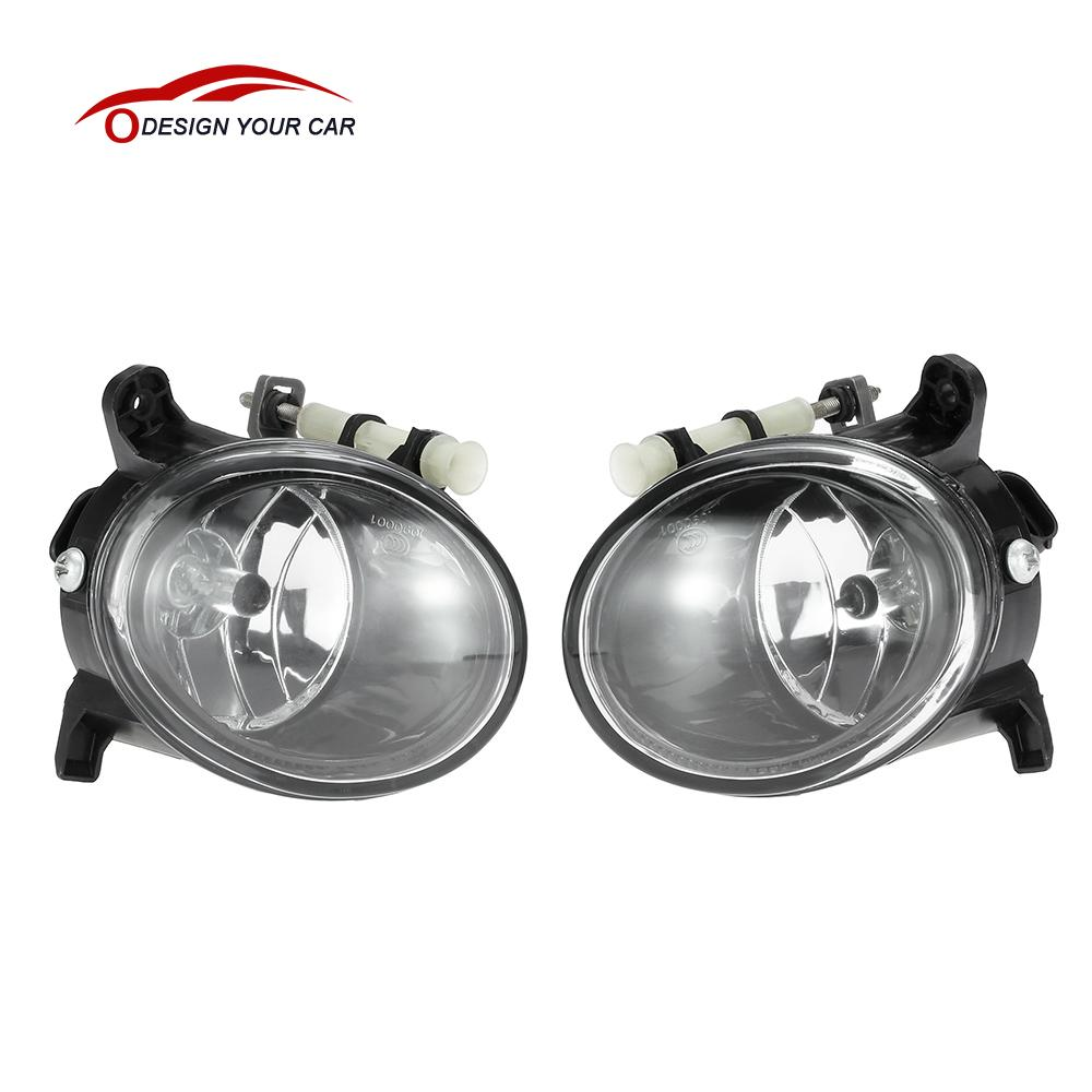 KKmoon 1 Pair Left Right Front Fog Light Lamp Bulb H11 Replacement Set for AUDI A4