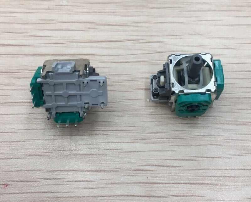 250 ピース/ロットオリジナルグリーン alps 3D アナログジョイスティックボタン ps4 xboxone xbox one コントローラと互換性のためのゲームパッド