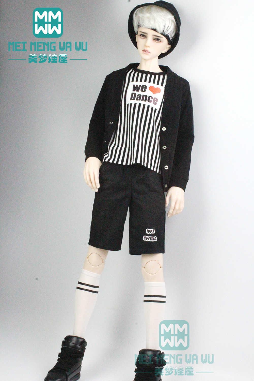 אביזרי BJD בובת בגדי עבור 65-72 cm BJD הדוד אופנה מקרית סריגים, מכנסיים קצרים, חולצות
