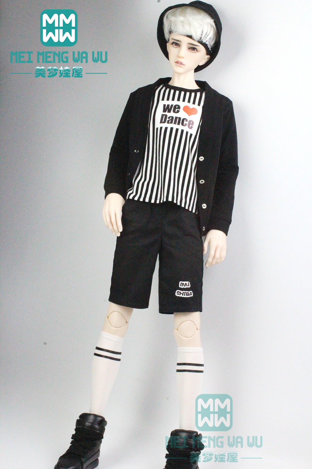 BJD Accessories Doll Clothes For 65--72cm BJD Uncle Fashion Casual Knitwear, Shorts, T-shirts