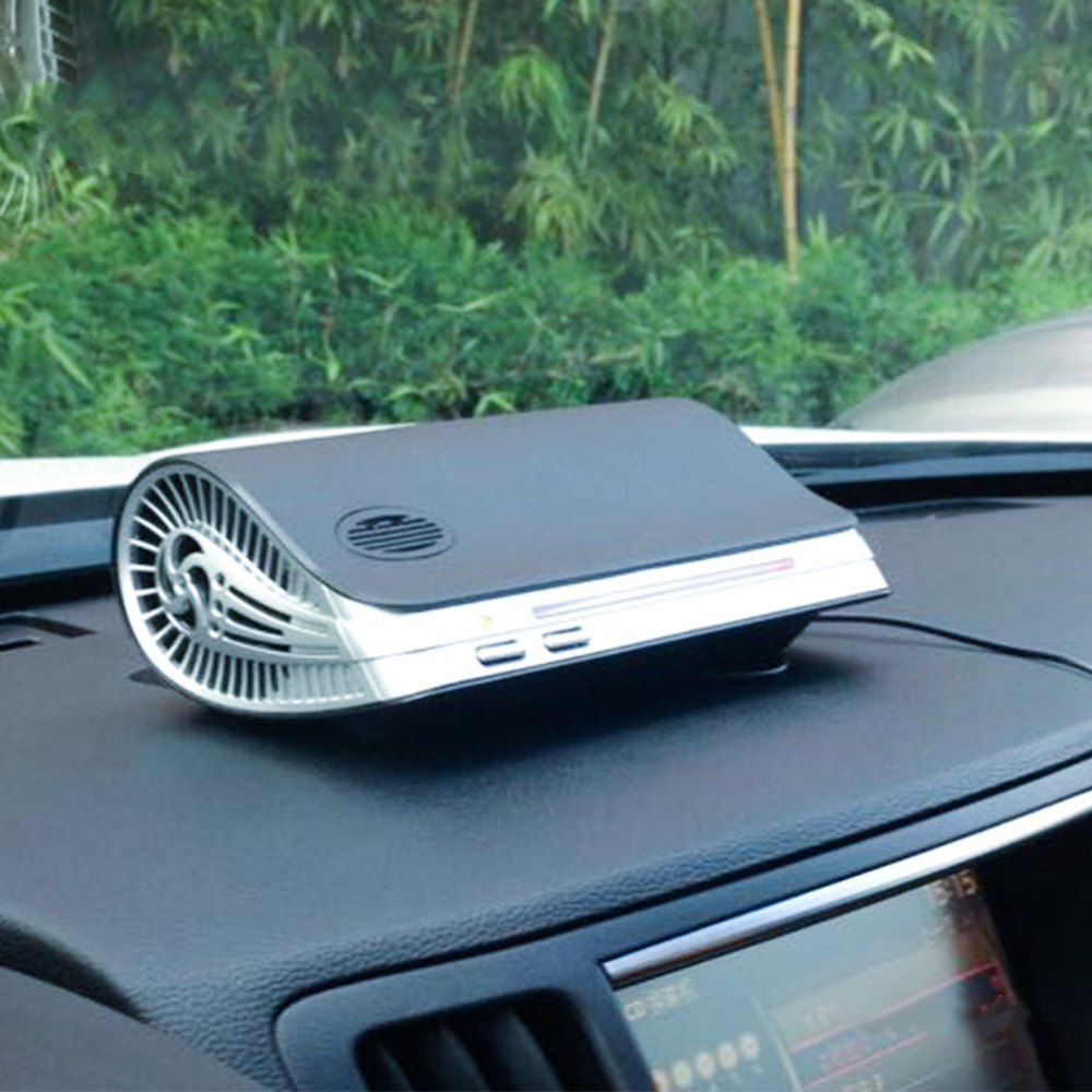 Car Air Purifier Auto Minus-Ion Air Purification Apparatus Portable Car Air Cleaner Ionic UV HEPA Ionizer Fresh Ozone Hot New~## free shipping new arrival car air purifier auto negative ions air purification apparatus portable car air cleaner for all kinds