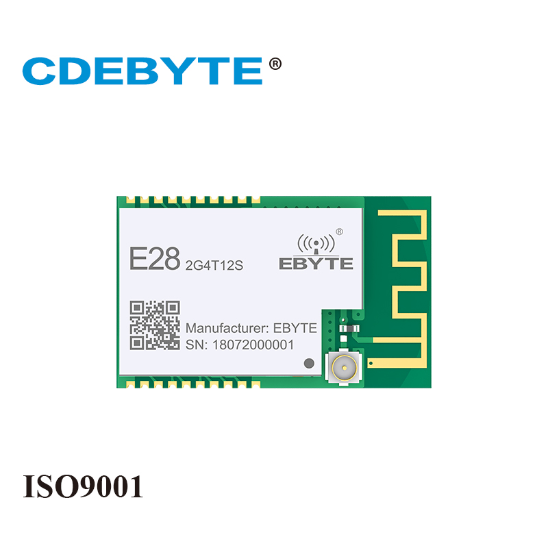 E28 2G4T12S LoRa Long Range SX1280 2 4GHz UART IPX PCB Antenna IoT uhf Wireless Transceiver Transmitter Receiver RF Module in Fixed Wireless Terminals from Cellphones Telecommunications