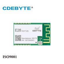 E28 2G4T12S لورا طويلة المدى SX1280 2.4GHz UART IPX PCB هوائي IoT uhf جهاز الإرسال والاستقبال اللاسلكي جهاز ريسيفر استقبال وإرسال وحدة RF