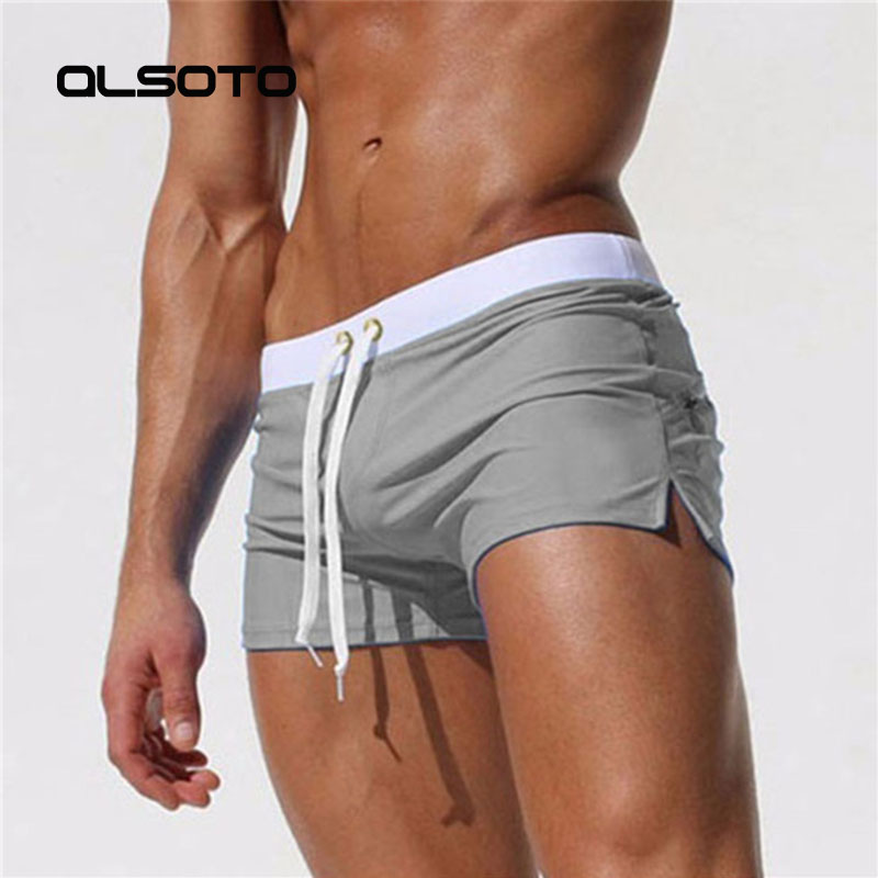 2019 New, Swimwear Men Sexy, Swim  Beach, used as shorts, Suitable for swimming pool, sea, 2