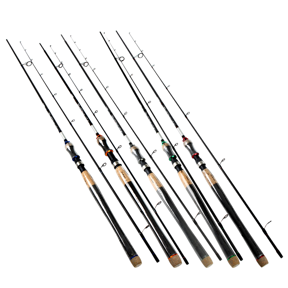 FTK 2 Section High Carbon 5 Color 2.1M-2.7M Soft Lure Fishing Rod Lure Weight 2-40g Spinning Fishing Rod For Lure Fishing fish king 99% carbon 2 1m 2 7m 4 section soft lure fishing rod lure weight 15 40g spinning fishing rod for lure fishing