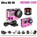 "Action camera EKEN H8/H8R VR360 ultra 4 K/30fps Wi-fi controle Remoto 2.0 ""Dual LCD pro Capacete Cam ir à prova d' água Esporte câmera"