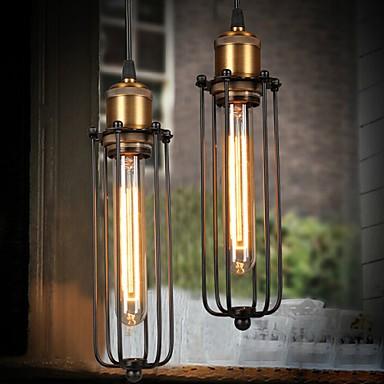 Edison Retro Style Loft Industrial Light Vintage Pendant Lamp Fxitures Lampshade Handlamp American Country 3