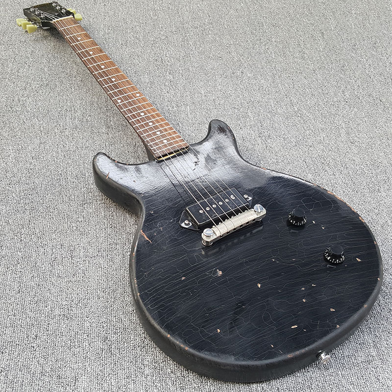 Lavoro manuale chitarra Elettrica, fare vecchia chitarra elettrica, di Età Compresa Tra parti di Chitarra Guitarra, foto Reale! Spedizione gratuita! Commercio All'ingrosso