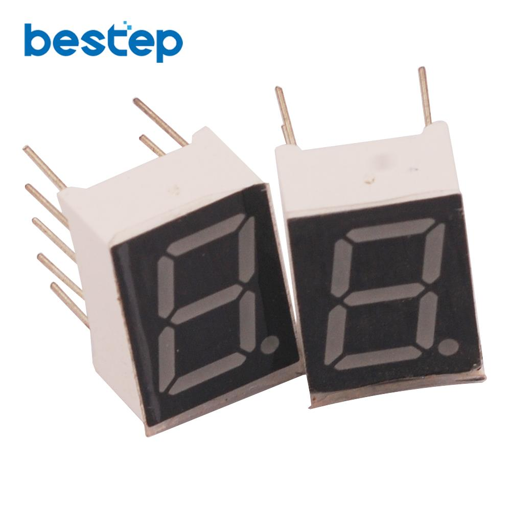 10PCS Common Cathode 1Bit Digital Tube 7 Segment 0.39