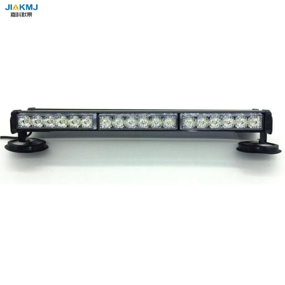 3 Watt Beiden seiten langes licht 36 LED DC12V lange Auto dach Notfall Warnung LightsEmergency Strobe blinklicht Rettungsfahrzeug lampe
