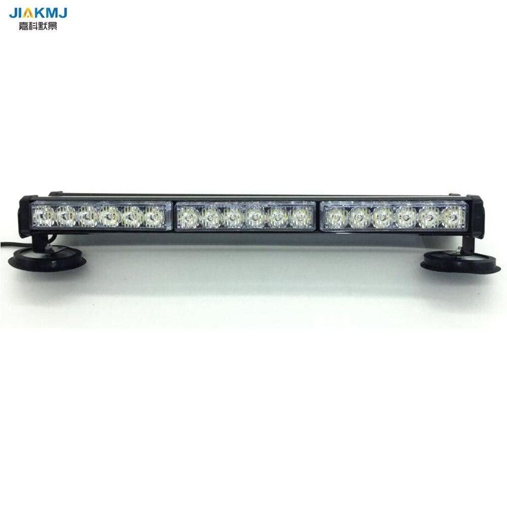 3W Both sides long light 36 LED DC12V long Car roof Emergency Warning LightsEmergency Strobe flashing Light Rescue Vehicle Lamp