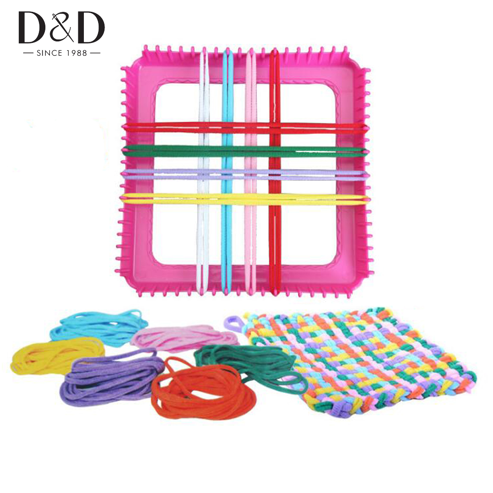 Loom Knitting For Kids : New plastic children hand knitting loom diy educational