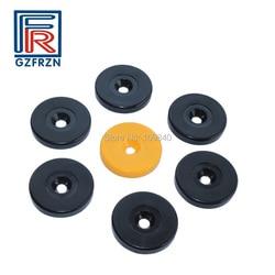 100 pcs/lot 13,56 MHZ Dia 30mm ABS ICH code SLIX chip Patrol punkt tags für patrouillen zugang control ISO15693 tag