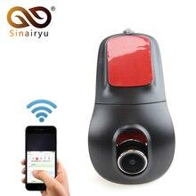 Sinairyu Novate 96655 WiFi 1080P Car DVR Registrator Video Recorder Camera Dashcam Hidden Mini Camera For Android 5.1 6.0 DVD
