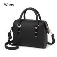 Для женщин новые кожаные сумки дизайнер Бостон сумки для Для женщин Роскошные сумки через плечо женский подушка сумка Bolsa feminina