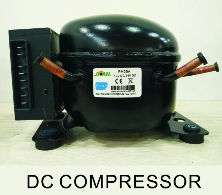 ZM25DC/R134A or R600A Refrigerator Freezer Compressor DC 12V/24V