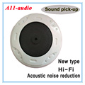 A11  high fidelity low noise CCTV camera Sound pick-up  Mic/microphone speaker Monitor audio for Security camera DVR