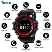 Relógio bluetooth ex16 relógio inteligente notificação pedômetro de controle remoto pulseira esportiva ip67 à prova dip67 água relógio de pulso masculino banda