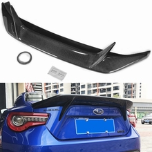 Fit for TOYOTA GT86 FT86 subaru BRZ  carbon fiber Rear diffuser bumper rear lip spoiler