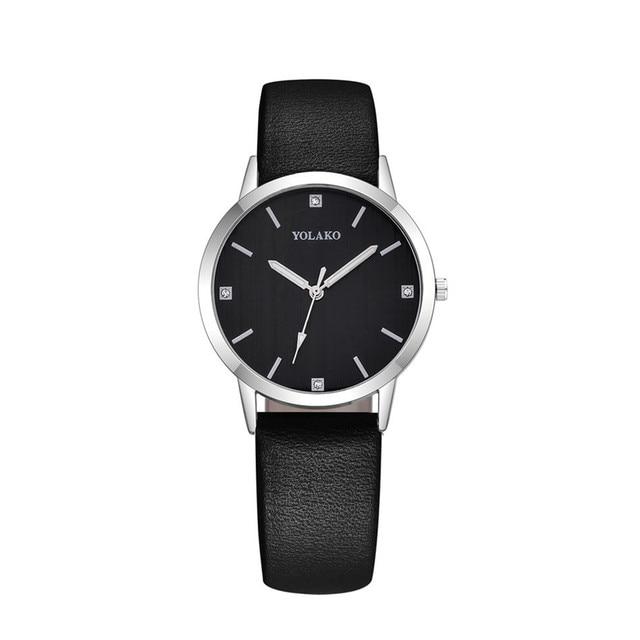 Fashion Simple Women Watches Women Elegant Leather Female Clock Quartz Casual Ladies Wrist Watch Bracelet Gift zegarek damski