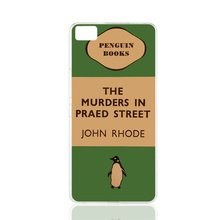 07154 penguin murders praed street cell phone Cover Case for BQ Aquaris M5.0 for ZUK Z1 FOR GOOGLE nexus 6
