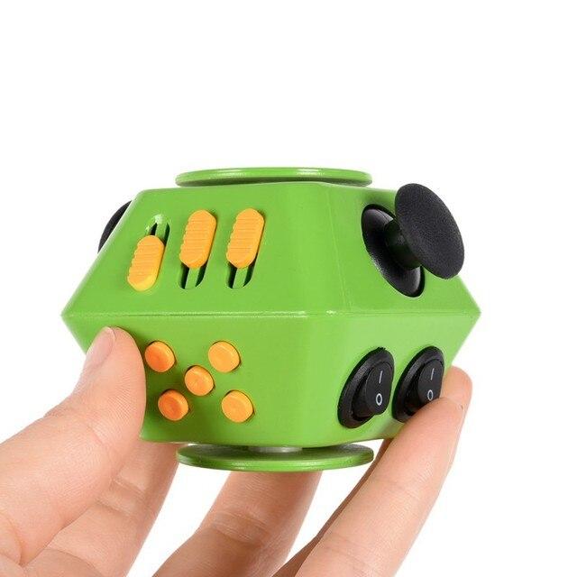 Новый 2-в-1 руки игрушки Магия палец руки Spinner анти-беспокойство анти-раздражительность стресс Снятие крошечные игрушки BB01