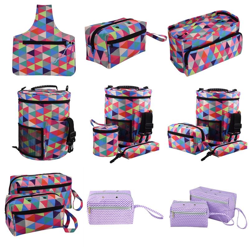 Yarn Wool DIY Storage Case Household Tote Storage Bag For Crochet Hook Knitting Needle DIY Needlework Crochet Bag For Gift