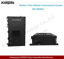 FULL HD COFDM Video Transmitter 1-3W Adjustable HDMI Wireless Transmitter and Receiver High-Speed Mobile Video System for Drones