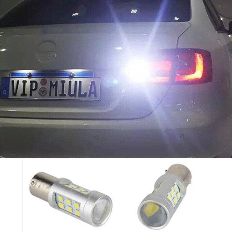 2 X Super Bright White LED Bulbs For Backup Reverse Light 1156 p21w ba15s For volvo xc90 xc60 v70 s80 s40 v60 c30 v50 машина пламенный мотор volvo v70 пожарная охрана 870189