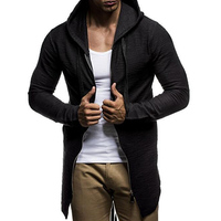 Brand Hoodies Men 2017 New Fashion Male Zipper Design High Street Wear Cotton Hoody Sweatshirts