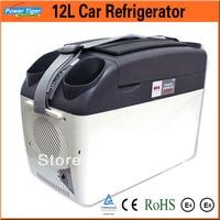 12L Car Refrigerator 12v portable Cooling And Heating fridge freezer Mini refrigerator Cooler Box for Home/Travel 5238C