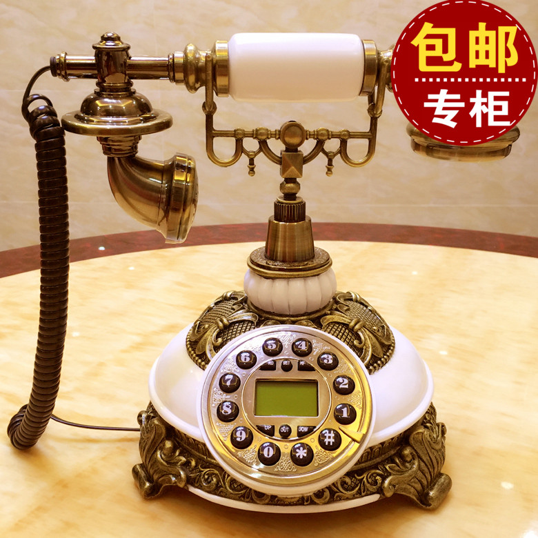 Vintage fashion European antique landlines Home Office telephone